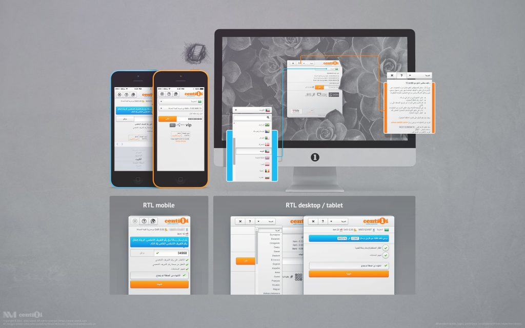 Right to left optimizations I did for mobile and desktop.