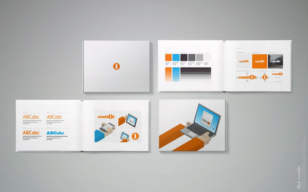 Logo, color, typography, and image guidelines.