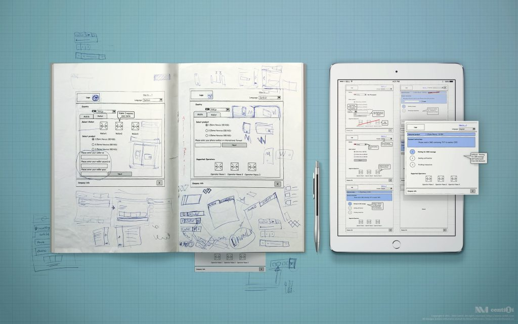 My concepts, wireframes, drafts, sketches, drawings.