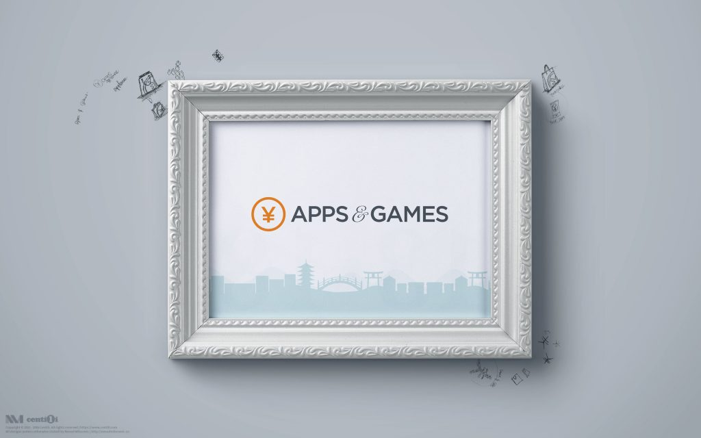 Apps & Games logo I designed. I need this picture on my wall.