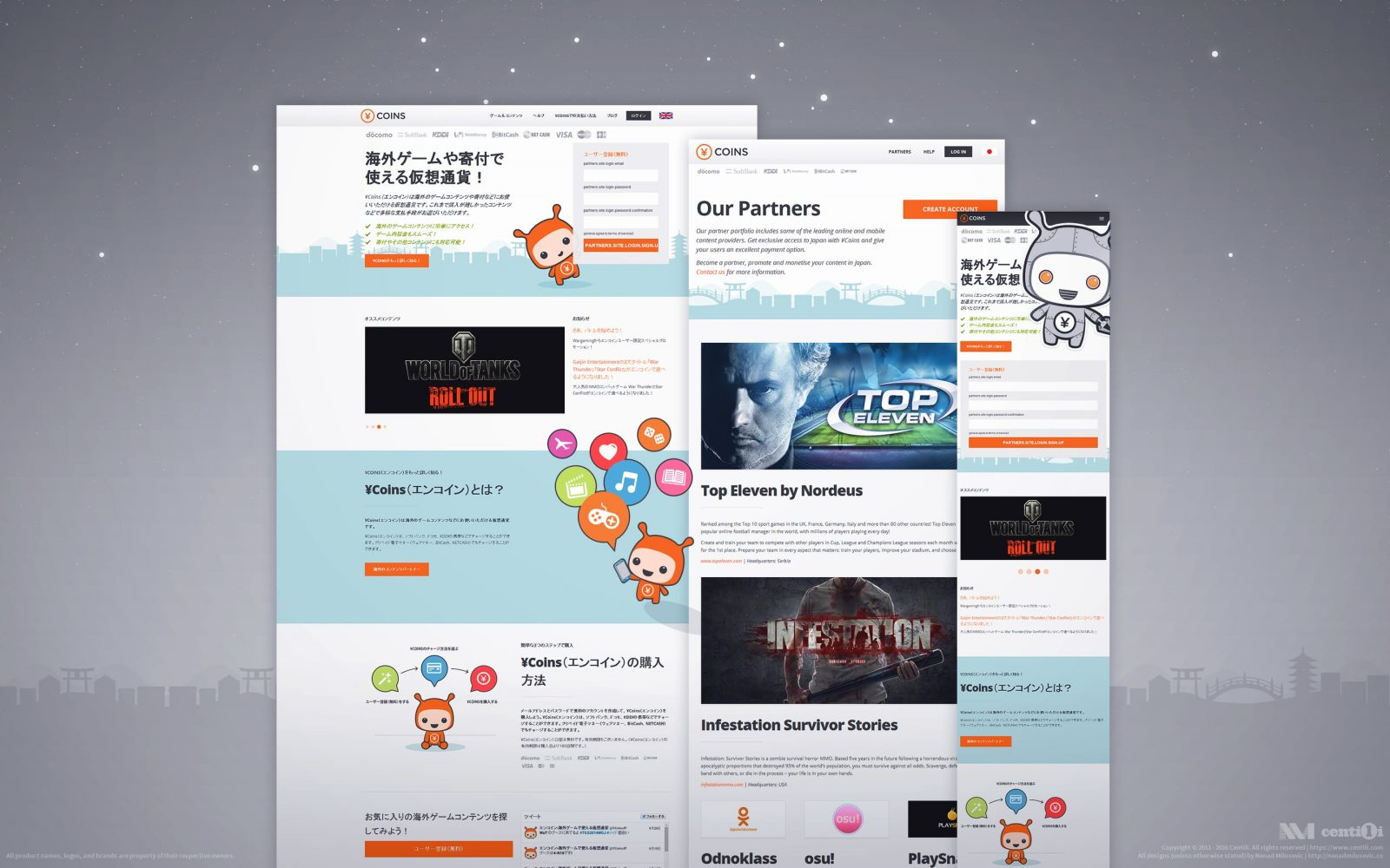 Final web design.